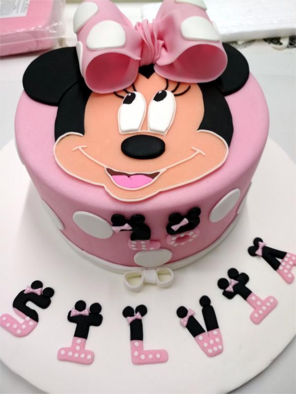 Tarta Fondant Cumpleaños Mini