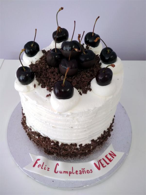 Tarta Cumpleaños selva negra