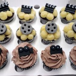 Cup Cakes con tematica de Cine