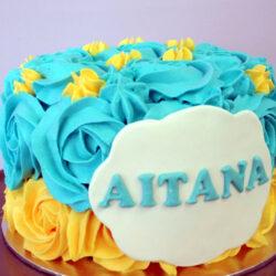 Tarta Cumpleaños Aitana
