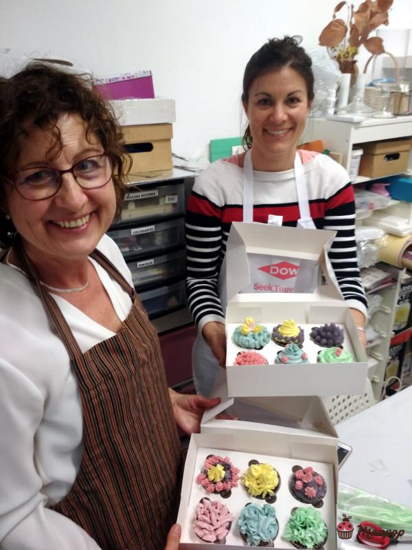 Taller deco cupcakes