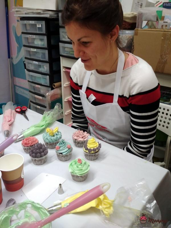 Taller decoracion Cupcakes