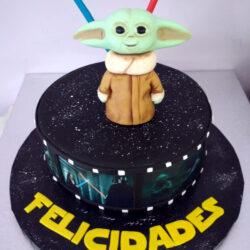 Tarta Bebe Yoda