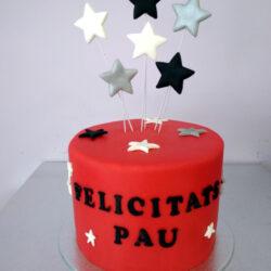 Tarta Cumpleaños estrellas