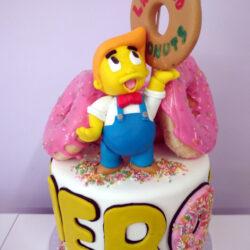 Tarta Monumento Donut Bart Simpson