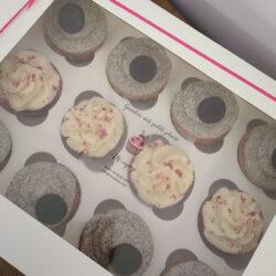 Caja 12 Cup Cakes Monpop
