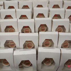 Cup Cakes Personalizadas Consum 4 aniversario